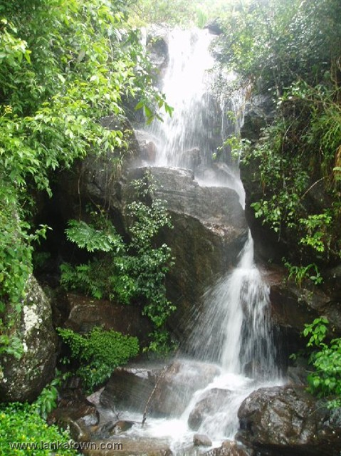 Mini Waterfall, Rakwana Sent in by Danushka Senadheera