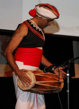 Traditional Drummer